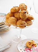 Gougeres (cheese profiteroles, France)