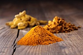 Turmeric (root and powder)