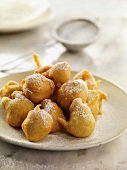 Bunuelitos (deep-fried pastries from Spain)