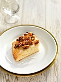Coca (yeast cake from Catalonia) with anise and walnuts