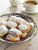 Hojaldrinas (sweet Spanish pastries)