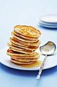 Pancakes with honey (Russia)