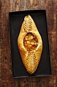 Rasstegay (Russian fish pie)