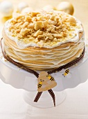 A layered honey cake