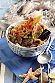 Cacciuccio (Italian fish soup)