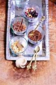 Dried fruits for fruit tea