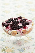 Blackberry trifle