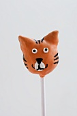 Cake Pop (decorated like a tiger)