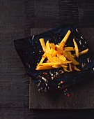 Skinny chips with chilli