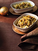 Cabbage with a mustard sauce for Christmas