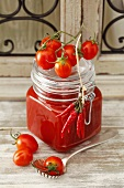 Tomato and chilli chutney