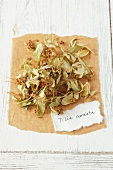 Dried small-leaved Lime (Tilia cordata)