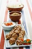 Kofta (minced meat ball kebabs)