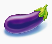 An aubergine (illustration)