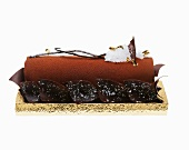 Chocolate Buche De Noel (French Christmas cake)