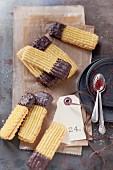Saffron biscuits