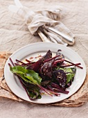 Grilled beetroot