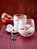 Date and pomegranate quark