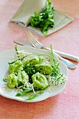 Gnocchi with rocket