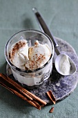 Cinnamon ice cream