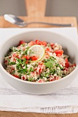 Tabbouleh (Arabic bulgur salad with parsley)