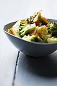 Broccoli salad with bottarga