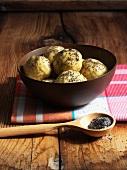 Poppy seed dumplings