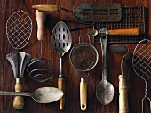 Old cooking utensils
