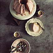 Strawberry and cream cheese ice cream