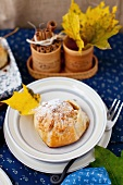 Apple Dumpling Stuffed with Dried Fruit