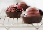 Chocolate Ice cream Cups