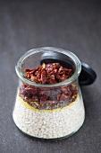 Risotto all arrabiata mix in a jar