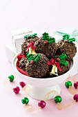 Rum truffles for Christmas
