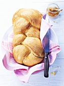Swiss Hefezopf (sweet bread)