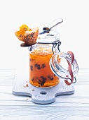 Apricot and cinnamon jam