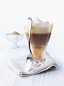 Coffee with Advocaat and milk foam