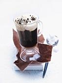 Pharisee coffee with rum