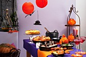 A Halloween buffet