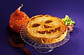 Pumpkin and minced meat pie