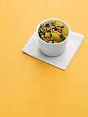 Pistachio and Orange Wild Rice Salad