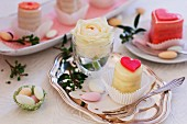 Petit fours and sugar eggs