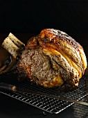 Beef rib roasting joint