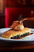 Sole with spinach