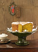Pumpkin seed cake