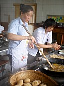 Chinese chefs at work
