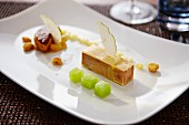 Foie gras with marinated apple