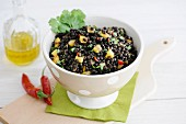 Lentil Salad with Mango, Chilie and Coriander