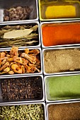Assorted herbs and spices