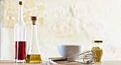 Ingredients for a vinaigrette