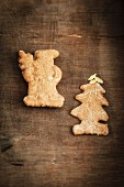 Home-made Spekulatius (German Christmas shortcrust biscuits)